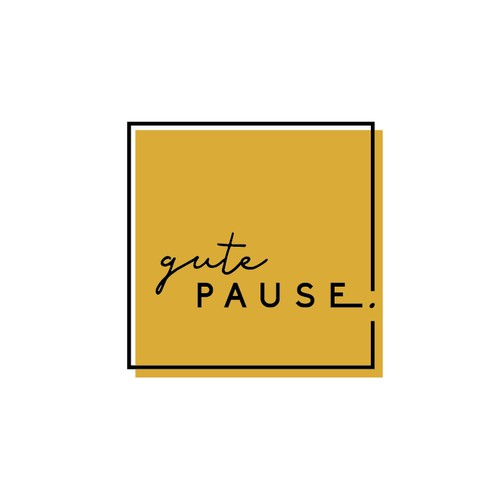 Brand Concept for Gute Pause