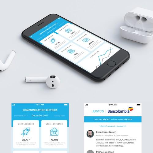 App  Concept for JUNTOS