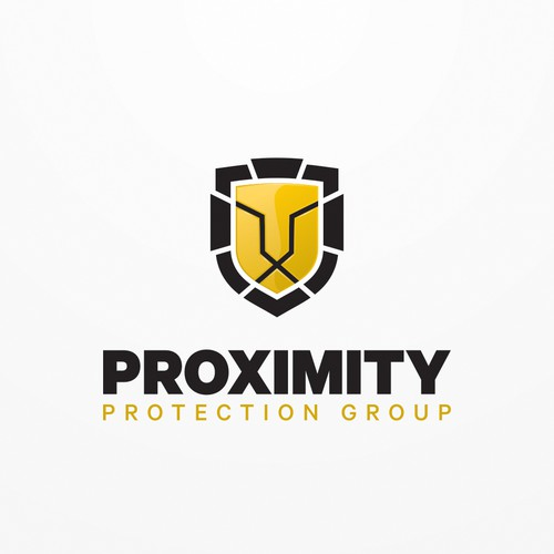 Corporate logo for high end security company