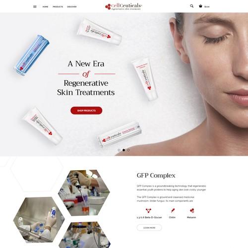 Premium Skin Care Site