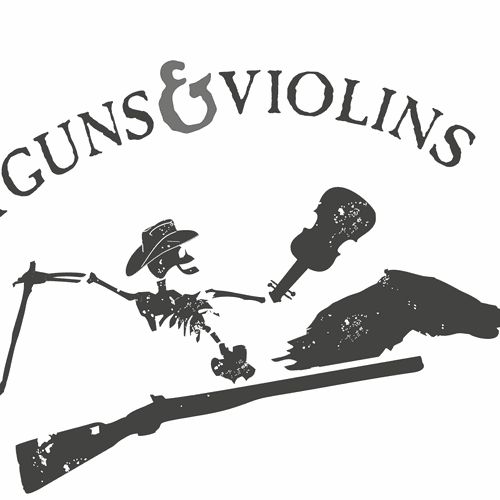 Edgy logo for country band