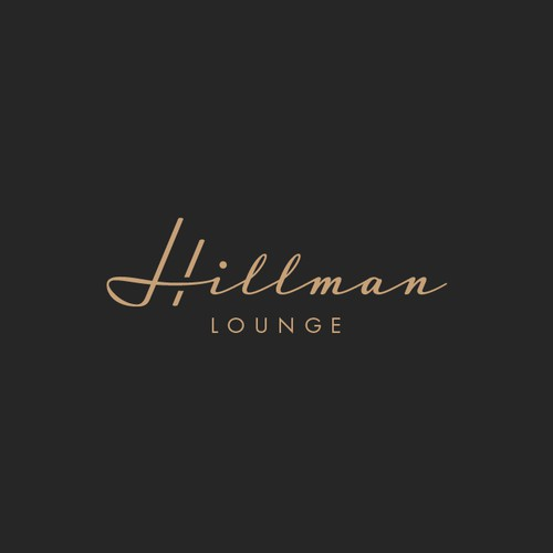 Logo for a lounge