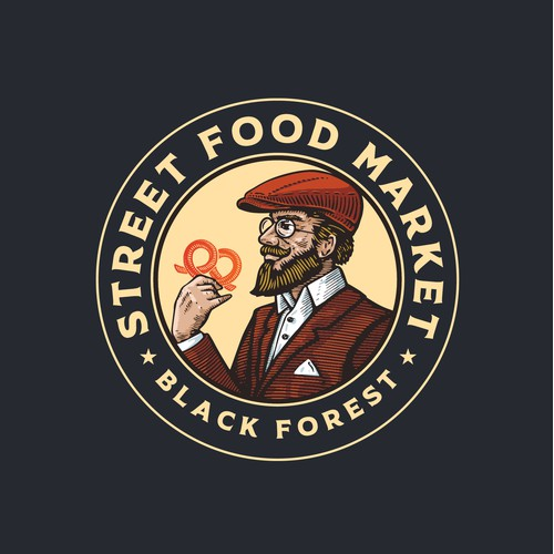 Logo design for Street Food Market