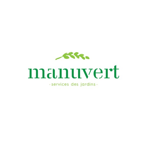 Logo for low-cost gardening services