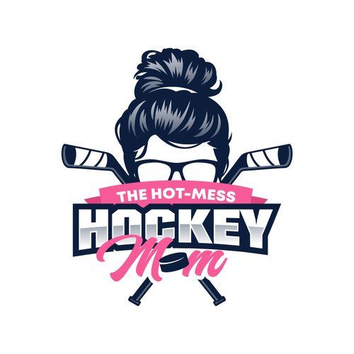 the hot-mess Hockey Mom