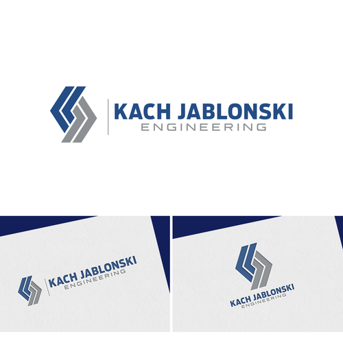 Simple geometric initial for civil engineering firm