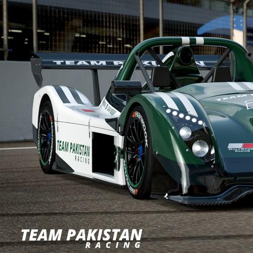 Team Pakistan Racing Radical SR3