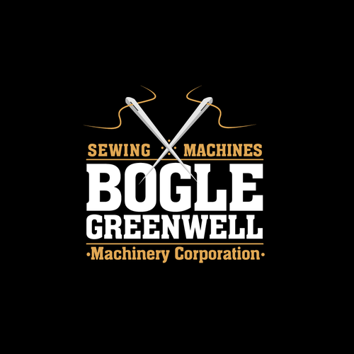 Sewing machines company logo