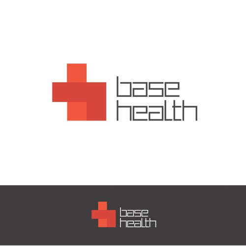 Clever, iconic logo brand with professional, modern medical feel