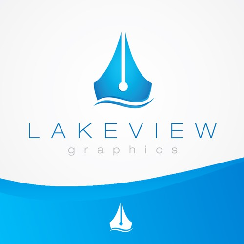 winner for Lakeview Graphics