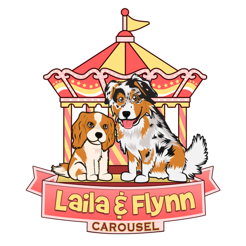 Create the next logo for Laila & Flynn Carousel