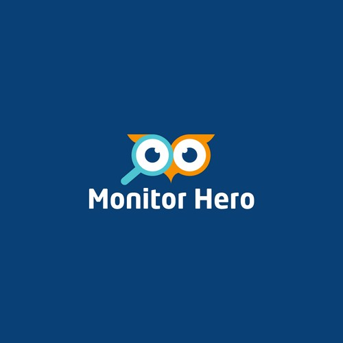 Winning design for monitorhero.com