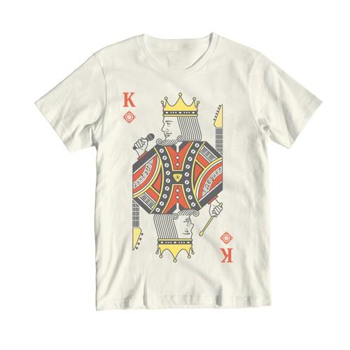 Music-Themed T-Shirt