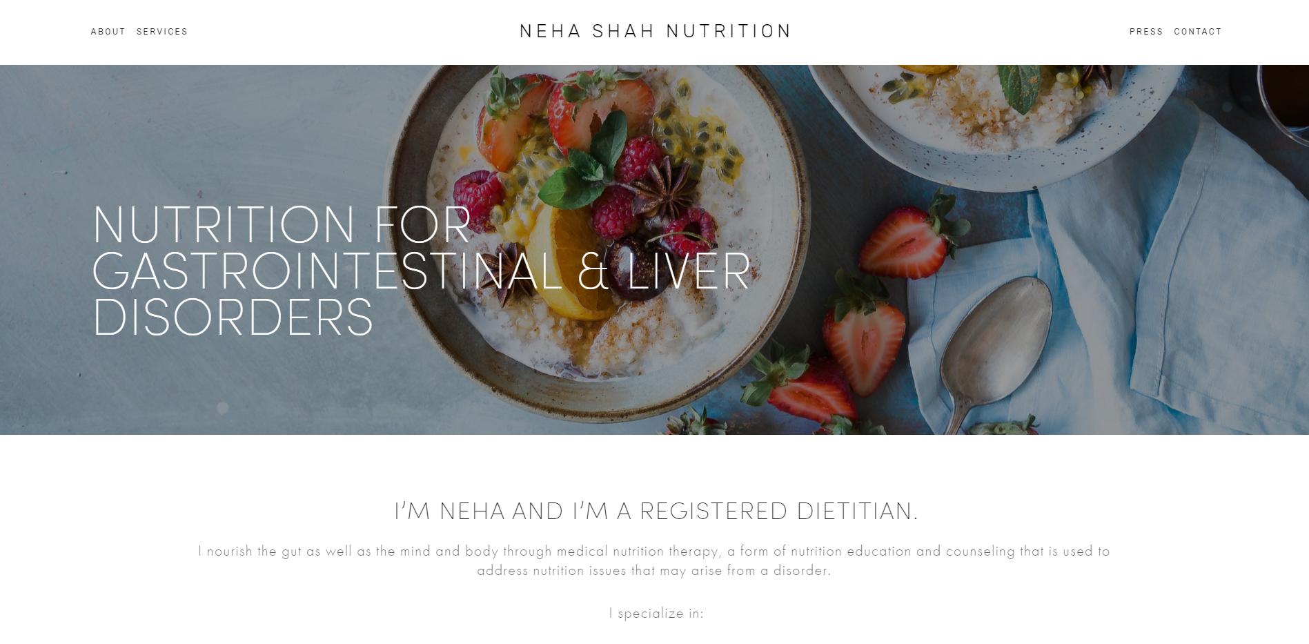 Neha Shah Nutrition
