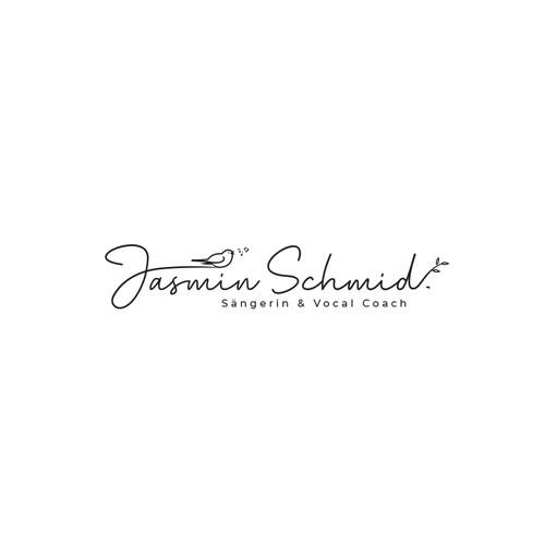 Feminine Logo for Vocal coach
