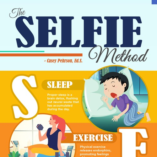 Infographic for Self-Care Recipe called SELFIE!