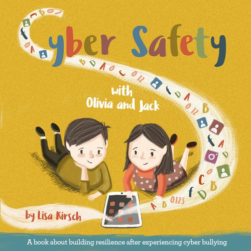 Cyber Safety book cover illustration