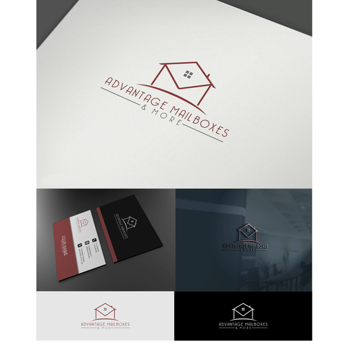 Advantage Mailboxes & More Logo Design