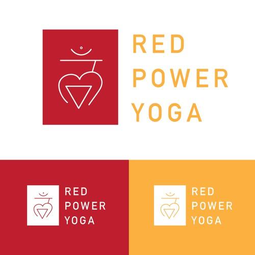 Logo concept for a yoga studo