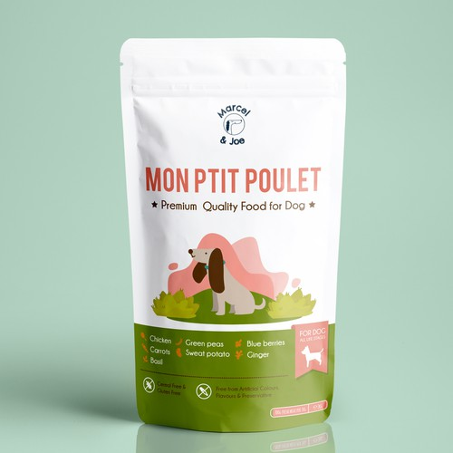 Organic PetFood Brand Ppuch Packaging