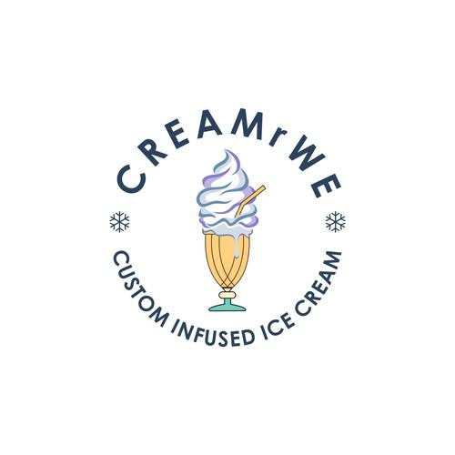 Custom infused ice cream