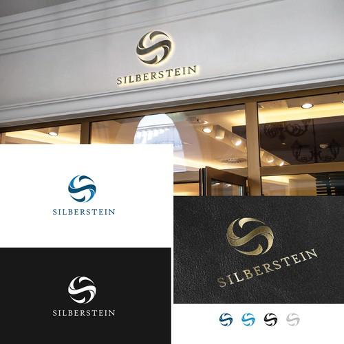 silberstain logo design