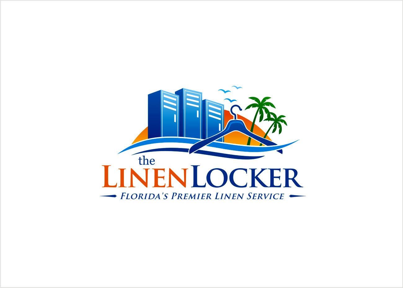Create the next logo for The Linen Locker