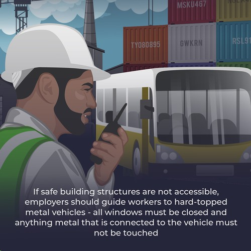 Lightning Safety Tips Infographic