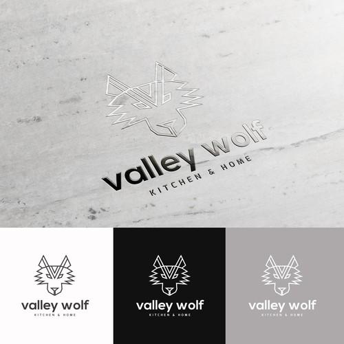 Valley Wolf Logo