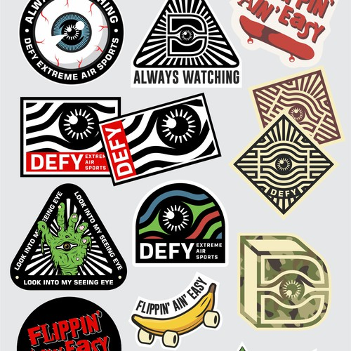 DEFY STICKER DESIGN FOR CULTURE