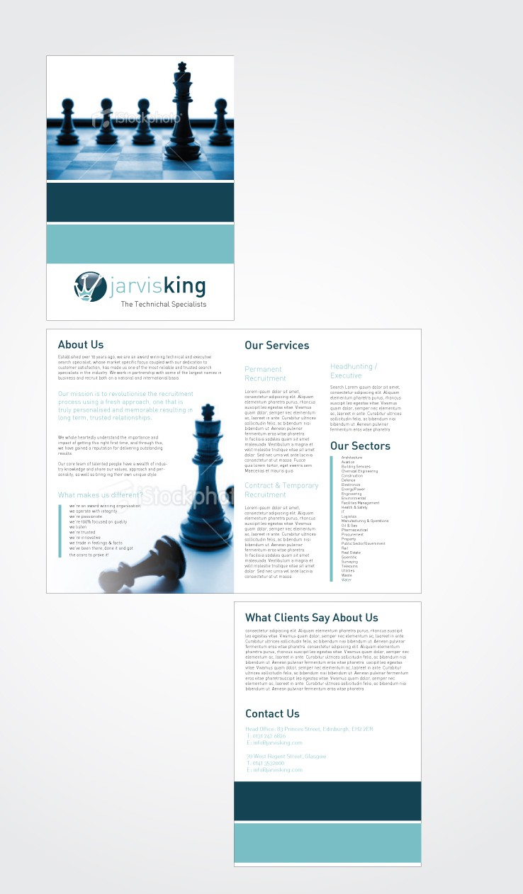 PDF brochure wanted for Jarvis King