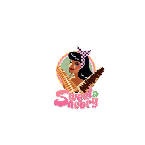 logo for candy store