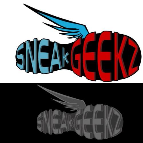 Logo for Sneaker website