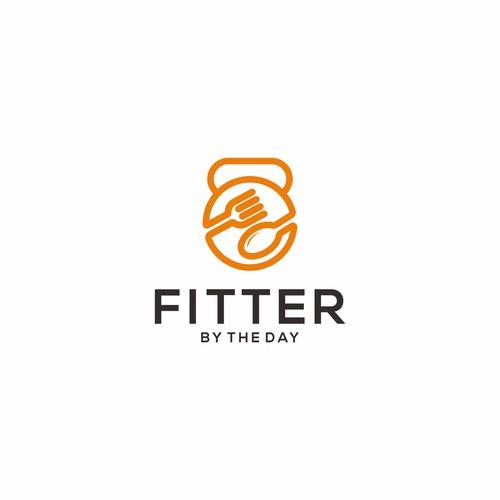 Let the gains begin! Ontwerp een logo voor hét blog van 2017 - Fitter By The Day!