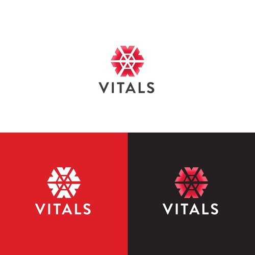 Vitals logo design