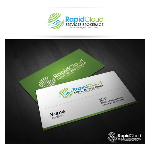 Help RapidCloud Services Brokerage with a new logo and business card
