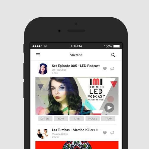 Mixtapes App
