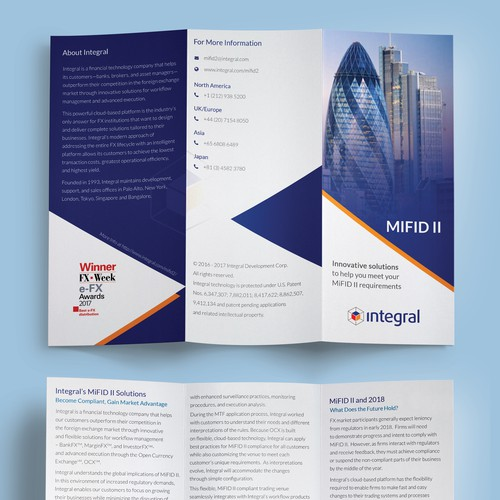 Branded Brochure for FX Services
