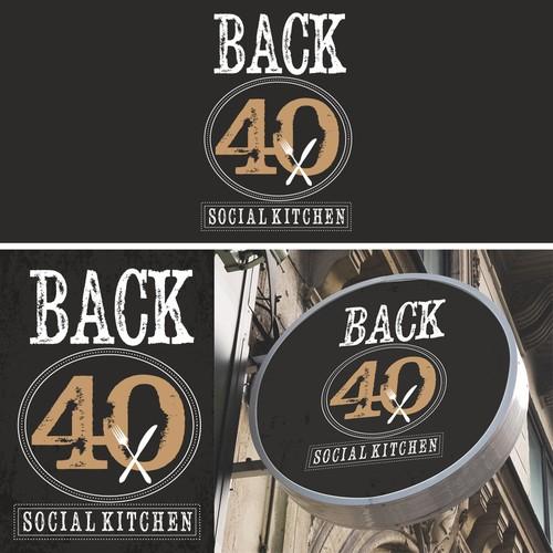 Back 40 Social Kitchen Restaurant Design