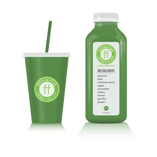 Custom Bottle/Smoothie Illustration