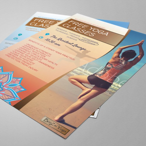 Flyers for Yoga Classes