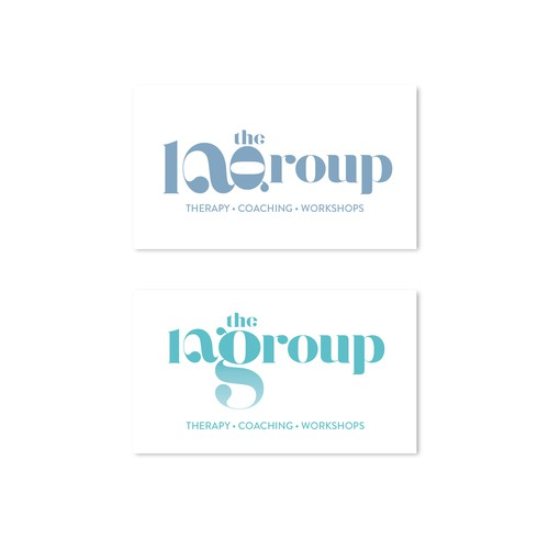 """""""the 1a group"""" psychotherapy group practice logo"""