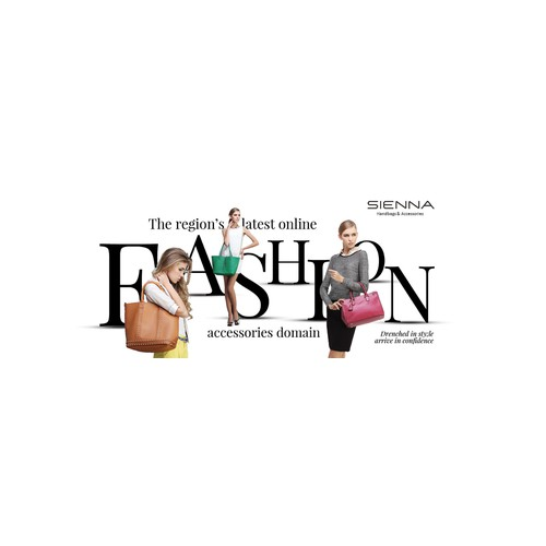 Banners for fashion online domain