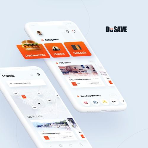 Cutting-edge, Clean & Modern App design