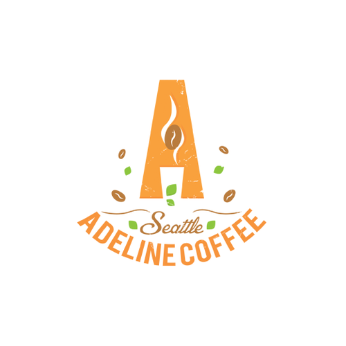 Create a memorable logo for Adeline Coffee
