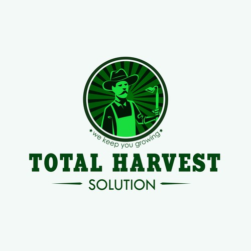 Total Harvest Solution Brand Identity
