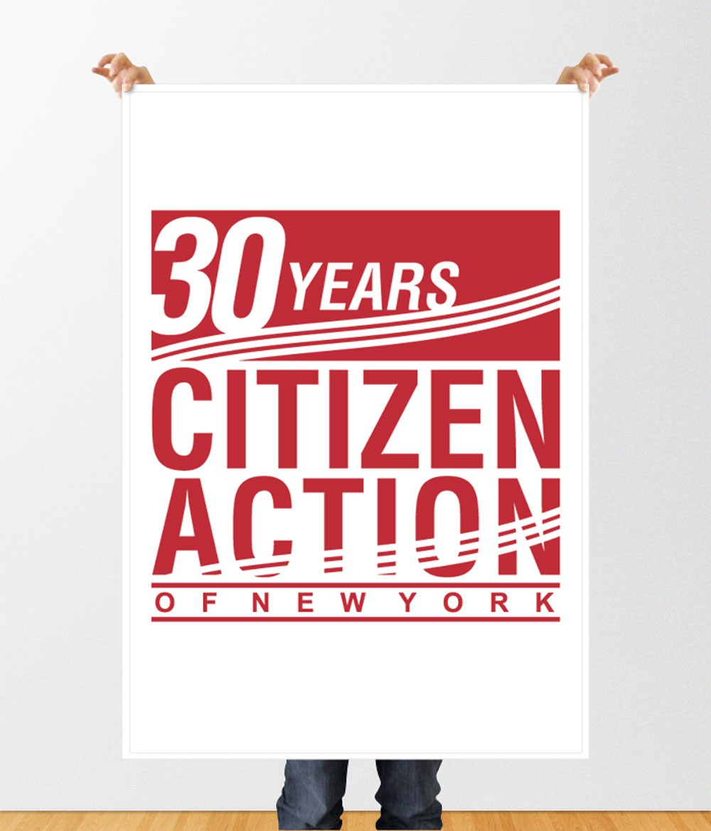 New Logo to Celebrate Citizen Action of New York's 30th Anniversary