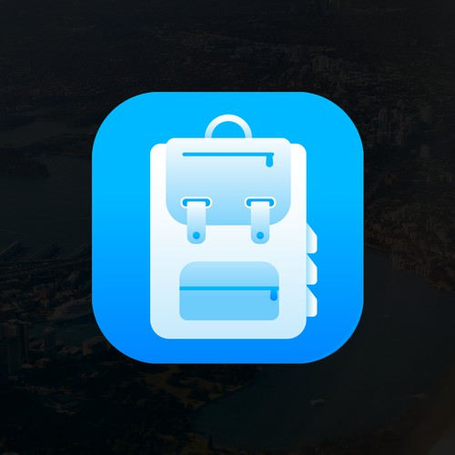 Travel planning app icon