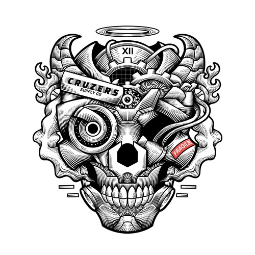 Tshirt design for Cruzers Supply co