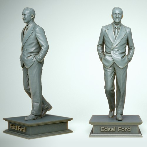 Edsel Ford 3D Print model
